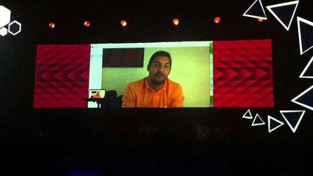 Celso Borges en TEDxPuraVidaJoven