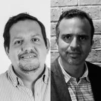 Mario Chacón y Daniel Moreno