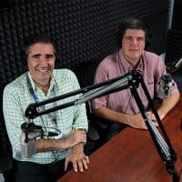 Armando González e Ignacio Santos